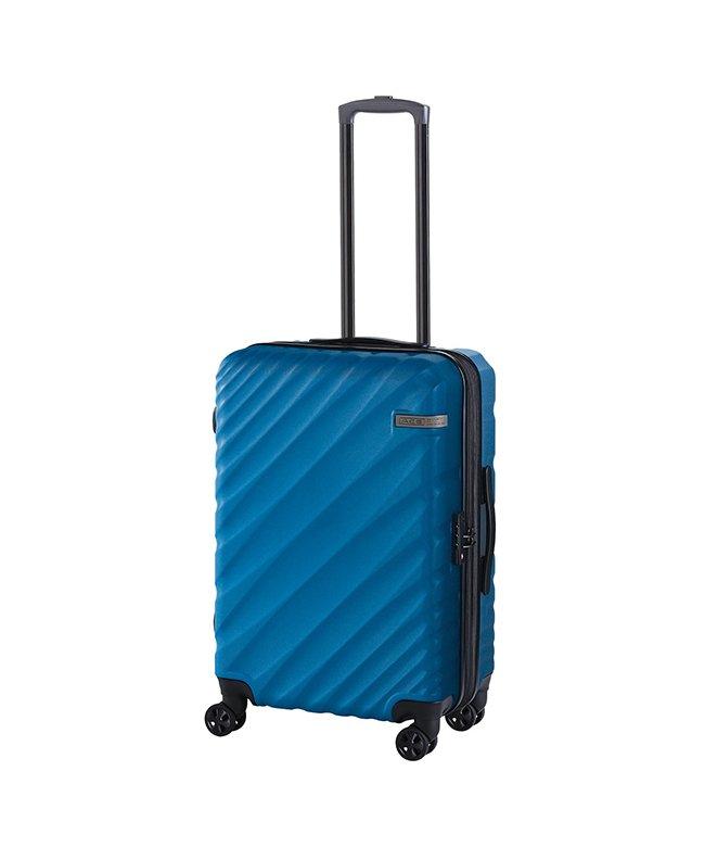 カバンのセレクション エース オーバル スーツケース Mサイズ 軽量 拡張 57L/70L ダイヤルロック ACE 06422 ユニセックス ブルー フリー 【Bag & Luggage SELECTION】