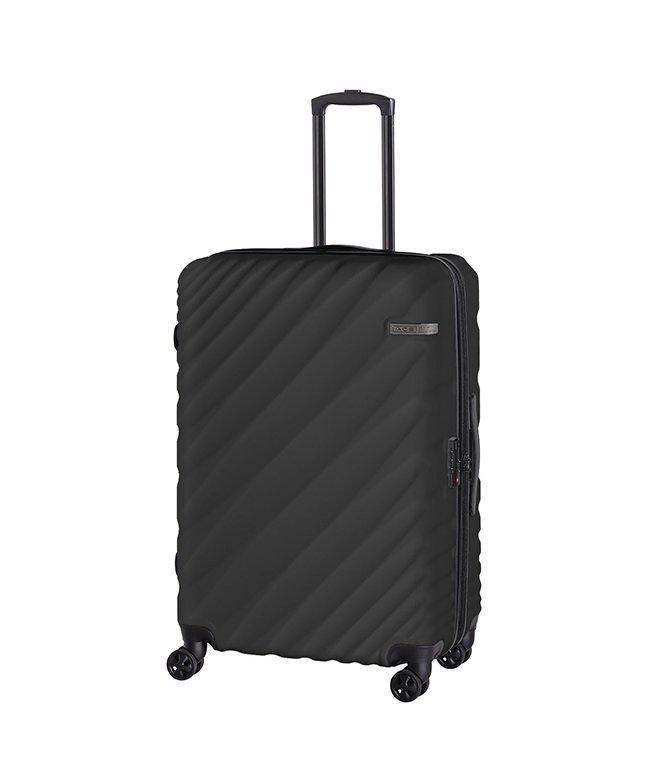 カバンのセレクション エース オーバル スーツケース Lサイズ 90L/111L 拡張 軽量 大型 大容量 ACE 06423 ユニセックス グレー フリー 【Bag & Luggage SELECTION】