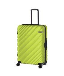 ACE DESIGNED BY ACE/エース オーバル スーツケース Lサイズ 90L/111L 拡張 軽量 大型 大容量 ACE 06423/502516078