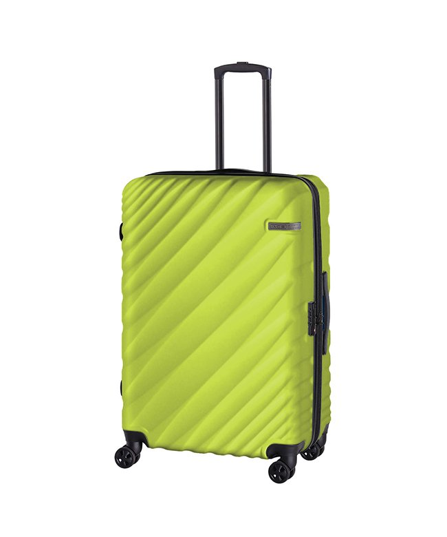 カバンのセレクション エース オーバル スーツケース Lサイズ 90L/111L 拡張 軽量 大型 大容量 ACE 06423 ユニセックス グリーン系1 フリー 【Bag & Luggage SELECTION】