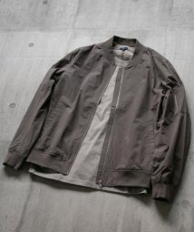 ITEMS URBANRESEARCH/ZIP UPリブブルゾン/502516308