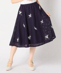 MISCH MASCH/刺繍フラワーレーススカート/502359363