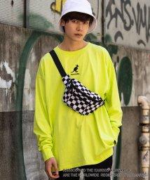 WEGO/【至極の逸品】WEGO/KANGOL別注刺繍ロンT/502371768