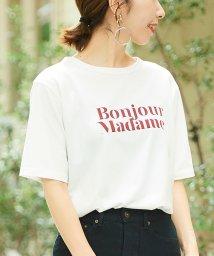 le.coeur blanc/BONJOURMM Tシャツ/502437935