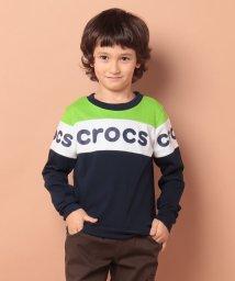 crocs(KIDS WEAR)/CROCSフロントロゴロンT/502495315