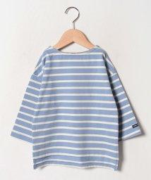 b-ROOM/肩落ちボートネックTシャツ/502499215