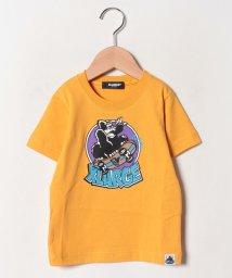XLARGE KIDS/スケボーゴリラプリントTシャツ/502499243