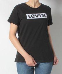 LEVI'S LADY/THE PERFECT TEE BOX TAB BLACK GRAPHIC/502506142