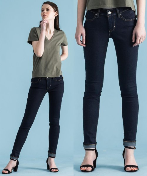 LEVI'S LADY(リーバイス レディース)/REVEL SHAPING SKINNY BEND THE RULES/362660009
