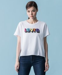LEVI'S LADY/GRAPHIC SURF TEE 3D LOGO WHITE GRAPHIC/502506192