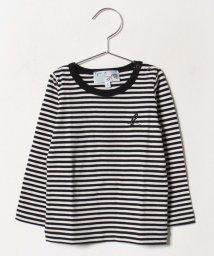 agnes b. ENFANT/J190 L TS ベビー ボーダーTシャツ/502507306