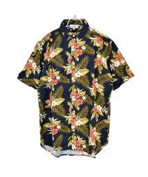 SantaReet/フレンチリネン使用半袖麻混サマーシャツ(NF-NES22B)/502511899