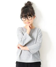devirock/ミニ裏毛7分袖Tシャツ/502517941