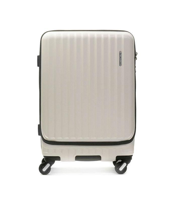 ギャレリア フリクエンター スーツケース FREQUENTER MALIE マーリエ Mサイズ フロントオープン 充電 キャリーケース 拡張 55L 3泊 1 281 ユニセックス アイボリー F 【GALLERIA】