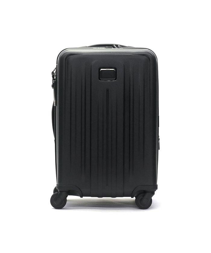 ギャレリア トゥミ スーツケース TUMI V4 インターナショナル・エクスパンダブル・4ウィール・キャリーオン 機内持ち込み 37L 22804060 ユニセックス ブラック F 【GALLERIA】