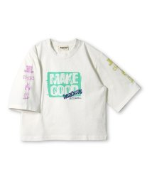 RADCHAP/袖プリント7分袖Tシャツ(80~140cm)/502519336