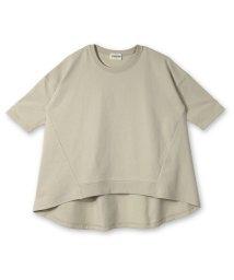 RADCHAP/裾リブチュニック7分袖Tシャツ(80~140cm)/502519343
