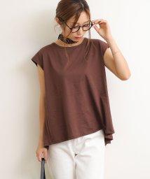 and Me.../コットンバックフリルノースリーブTシャツ/502520381