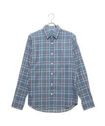 Rename/リネーム Rename コットンチェックシャツ (ブルー)/502521224