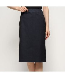 Rename/リネーム Rename デニム調シンプル スリットスカート (ブラック)/502521317