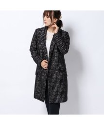 Rename/リネーム Rename ダブルボタンチェスターコート (ブラック)/502521340