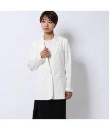 Rename/リネーム Rename ストライプ柄サマージャケット (ホワイト)/502521344