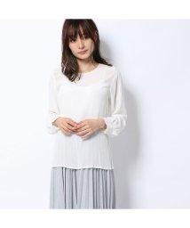 Rename/リネーム Rename シフォン袖ブラウス (ホワイト)/502521382