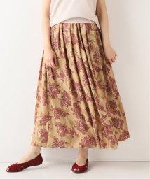 SLOBE IENA/ペイズリーフラワーギャザースカート/502521435