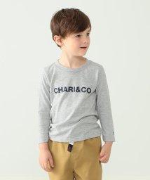 こどもビームス/Chari&Co. / クルーネック ロングスリーブ Tシャツ 19(110~150cm)/502521497