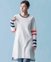 LEVI'S LADY/STRIPPED INTERLOCK DRESS OFF WHITE W/ N/502486618