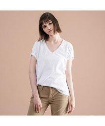 Levi's/DAD VネックTシャツ WHITE +/502488009