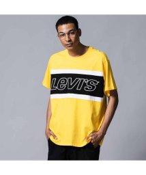 Levi's/カラーブロックTシャツ JERSEY COLORBLOCK BRILLIANT YELLOW/502488019