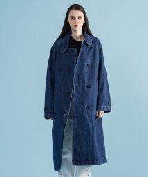 LEVI'S LADY/DENIM TRENCH COAT MED AUTHENTIC STONEWAS/502506168