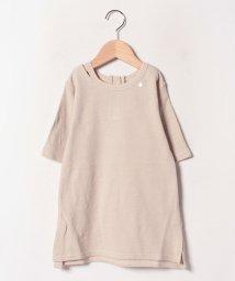 petit main/衿スリットTシャツワンピース/502508911
