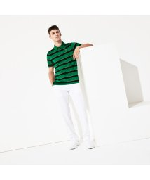 LACOSTESPORTS MENS/『PRESIDENTS CUP』ワイドボーダーポロ/502521563