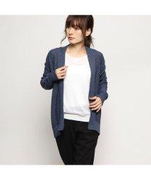 Rename/リネーム Rename ガウン風コットンカーディガン (ネイビー)/502521614