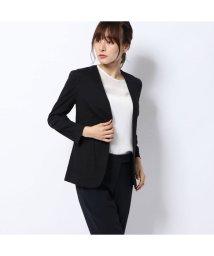 Rename/リネーム Rename リネンノーカラージャケット (ブラック)/502521627