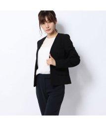 Rename/リネーム Rename ノーカラーVネックジャケット (ブラック)/502521670