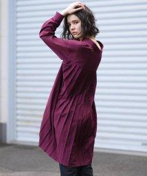 MAYSON GREY/バックプリーツマオカラーシャツ/502522028