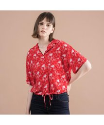 Levi's/PALOMA シャツ FLIPPED FLORAL BRILLIANT RED/502522217