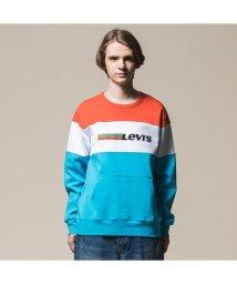 Levi's/カラーブロックスウェットシャツ PIECED TOP ORANGE/502522231