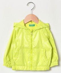 BENETTON (UNITED COLORS OF BENETTON GIRLS)/シャーベットカラードットフードジャケット/501596231