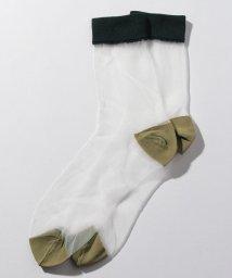SISLEY/カラーブロックソックス・靴下/502514698