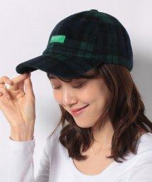 BENETTON (women)/ベネトンロゴチェック柄キャップ・帽子/502514780