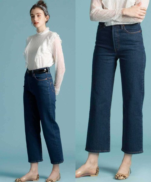 LEVI'S LADY(リーバイス レディース)/RIBCAGE STRAIGHT ANKLE LIFE'S WORK/726930002