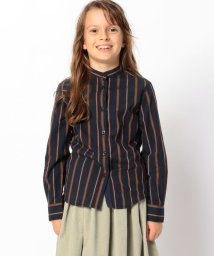 TOMORROWLAND BOYS & GIRLS/レジメンタルストライプ スタンドカラーシャツ/502522966