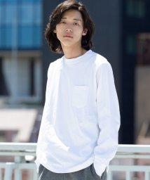 coen/USAコットンロングスリーブTシャツ/502508070