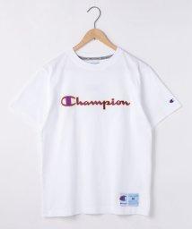 coen/【WEB限定】Champion(チャンピオン)アクションスタイルスクリプトロゴ刺繍Tシャツ(C3-Q301)/502508515