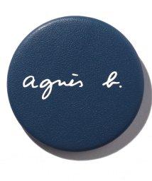 agnes b. Voyage/MA01-01 レザーロゴバッジ/502515407