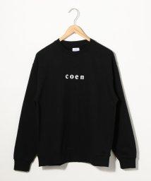 coen/coenチビロゴスウェットクルーネック/502516159